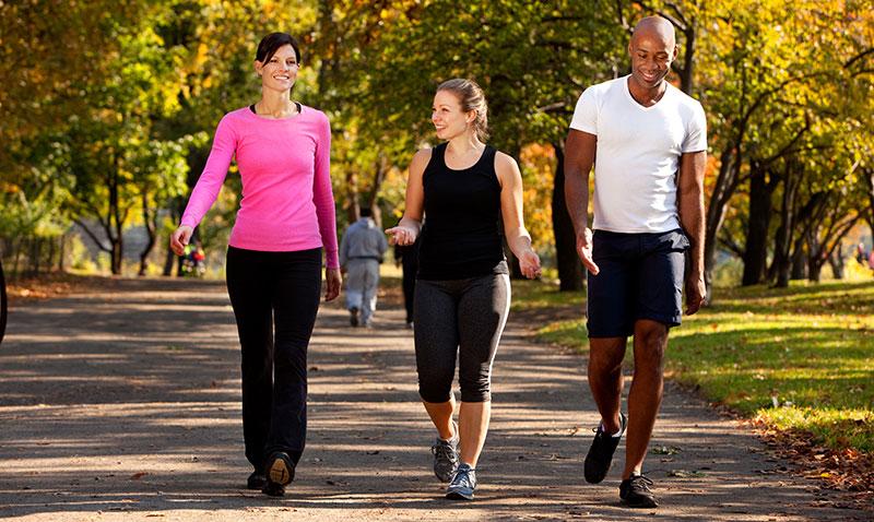 fitness walkers