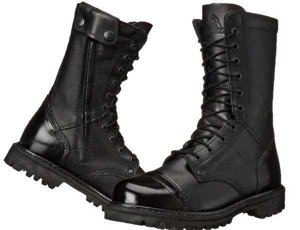 Most Comfortable Police Boots for Patrol or Academy