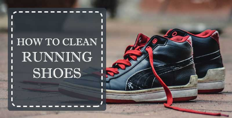 how to clean running shoes manually
